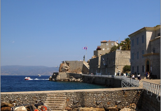 Hydra, port et fortifications #03